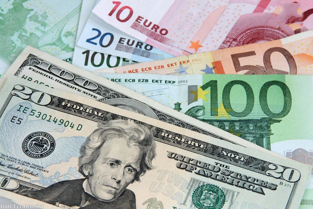 نرخ رسمی یورو و پوند و سایر ارزها امروز سه شنبه 8 بهمن