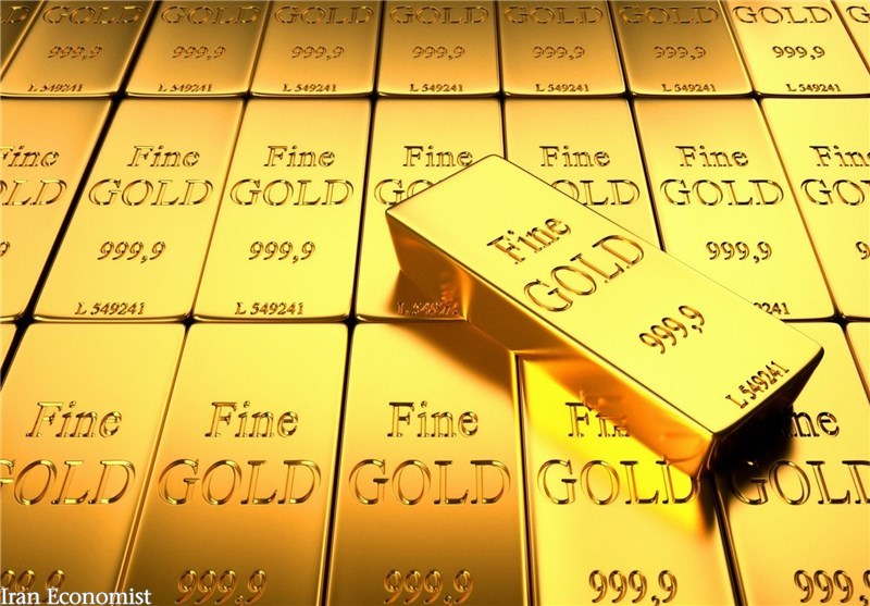 کاهش جزئی  قیمت طلا در بازار جهانی