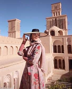 تصاویر: عکس بازی ایدا دختر بوسنیایی با مساجد و بناهای تاریخی
