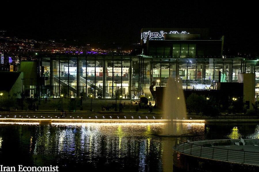 تصاویر: ایجاد دریاچه جدید در تهران
