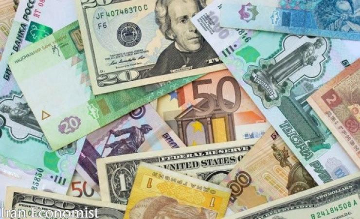 نرخ ارزهای بین بانکی در ۲۷ آبان