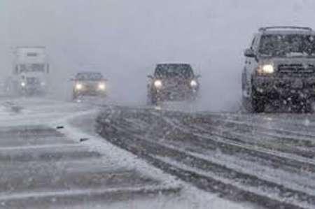هواشناسی استان البرز: جاده چالوس یخ می زند