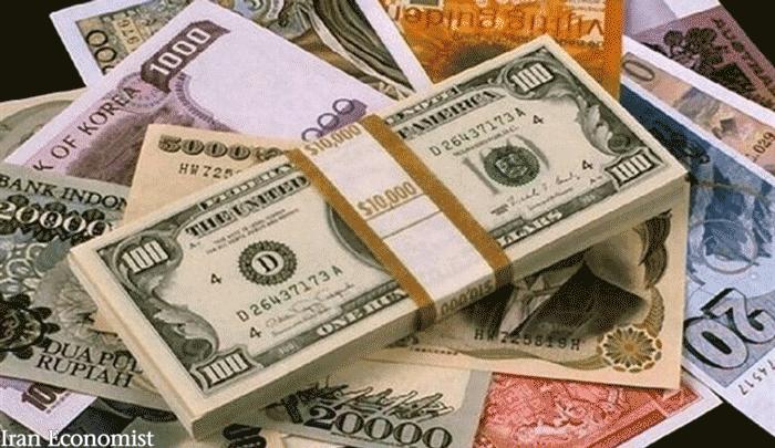 نرخ رسمی ارزهای بین بانکی 11 فروردین