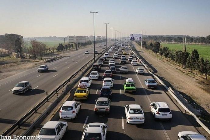 تردد در محورهای برونشهری کشور  ۳.۲ درصد افزایش یافت