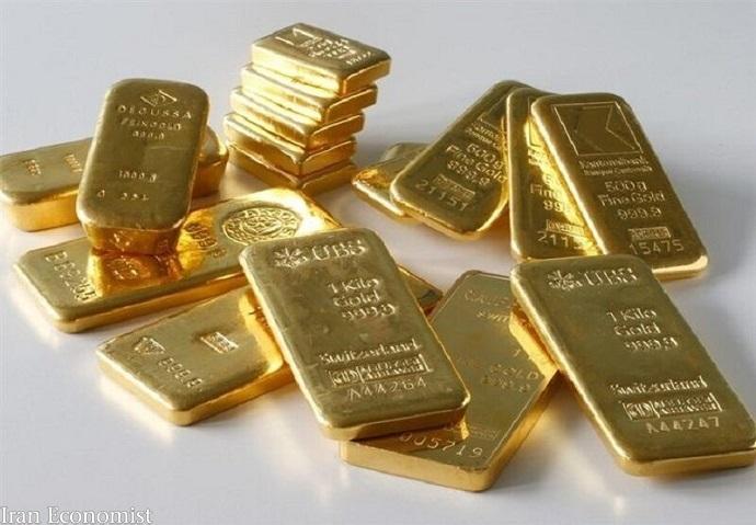 طلای جهانی ثابت ماندطلای جهانی ثابت ماند